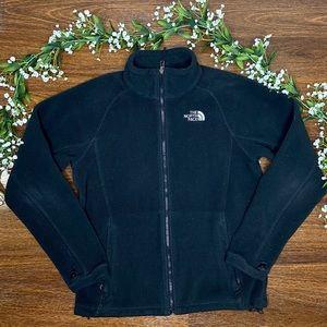 The North Face | Black Fleece Zip Up Jacket Size M